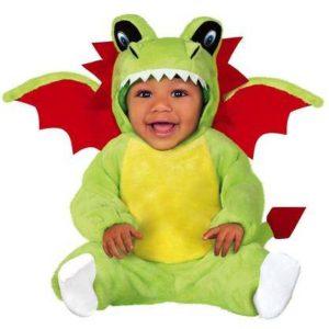 Guirca Dětský kostým pro nejmenší - Malý Dráčik Velikost nejmenší: 6 - 12 měsíců