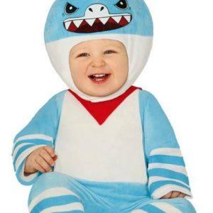 Guirca Dětský kostým pro nejmenší - Malý Žralok Velikost nejmenší: 12 - 24 měsíců