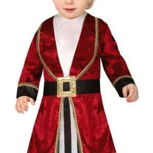 Guirca Dětský kostým pro nejmenší - Pirát Velikost nejmenší: 6 - 12 měsíců