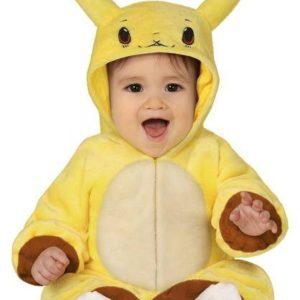Guirca Dětský kostým pro nejmenší - Pokémon Pikachu Velikost nejmenší: 6 - 12 měsíců