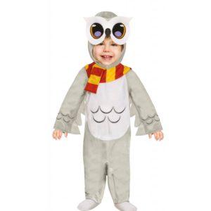 Guirca Dětský kostým pro nejmenší - Sova Hedwig Velikost nejmenší: 6 - 12 měsíců