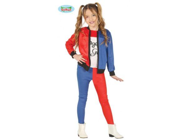 Guirca Harley Quinn - dětský kostým Velikost - děti: M