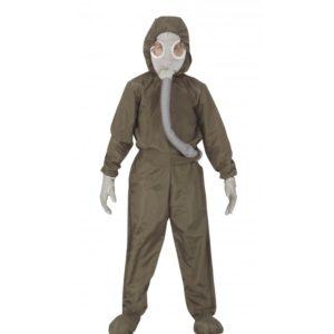 Guirca Jaderný oblek Černobyl - Dětský kostým Velikost - děti: M