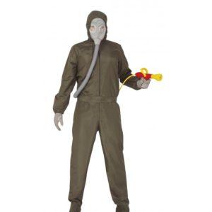 Guirca Jaderný oblek Černobyl - Pánský kostým Velikost - dospělý: L