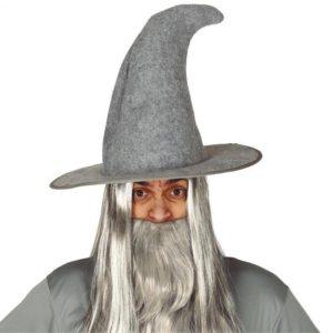 Guirca Magický klobouk šedý (Gandalf)