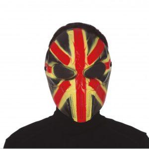 Guirca Maska Anglická Vlajka