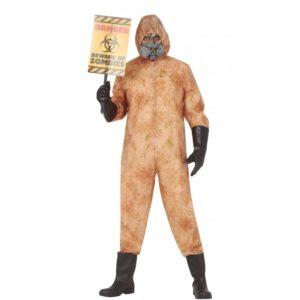 Guirca Pánský kostým - Jaderný oblek Černobyl Velikost - dospělý: L