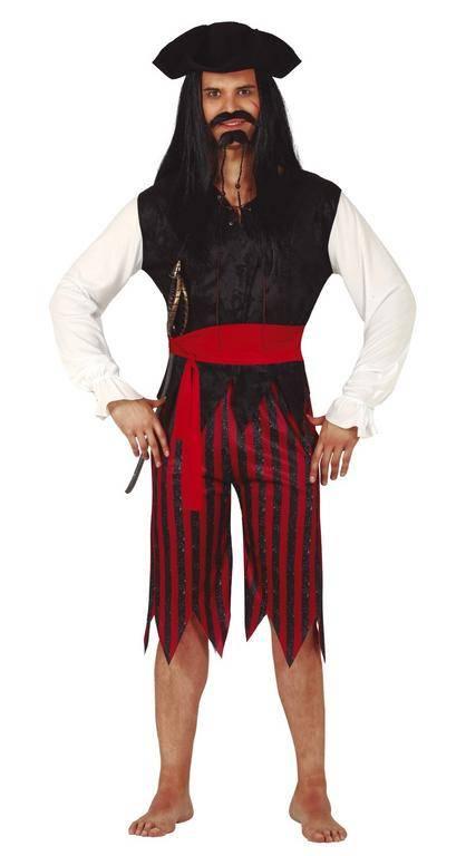 Guirca Pánský kostým - Pirát Velikost - dospělý: L