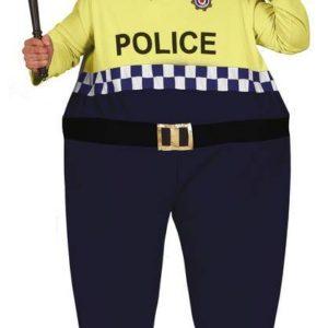 Guirca Pánský kostým - Tučný Policista