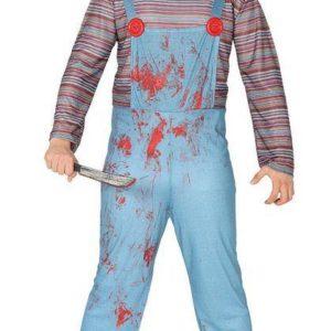 Guirca Pánský kostým - Vražedná panenka Chucky Velikost - dospělý: L