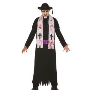 Guirca Pánský kostým - Zombie kněz Velikost - dospělý: L