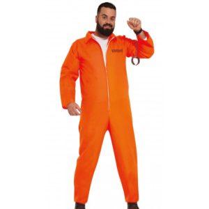 Guirca Pánský kostým vězně - La casa de papel Velikost - dospělý: XL