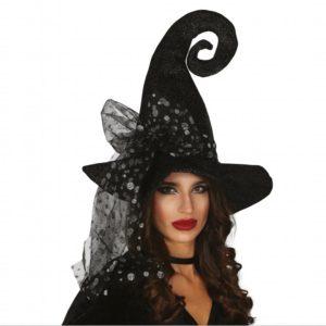 Guirca Šedý klobouk čarodějnice