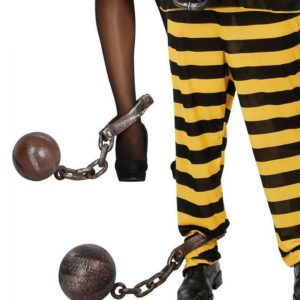 Guirca Vězeňská řetěz s koulí