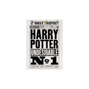 Minalima Plakát Denní prorok Harry Potter undesirable No.1 - Harry Potter