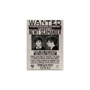 Minalima Plakát Newt Scamander - Fantastické zvěře
