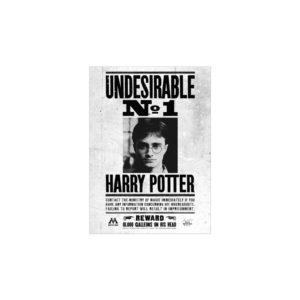 Minalima Plakát Undesirable No.1 - Harry Potter