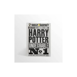 Minalima Pohlednice Denní prorok Harry Potter undesirable No-1 - Harry Potter