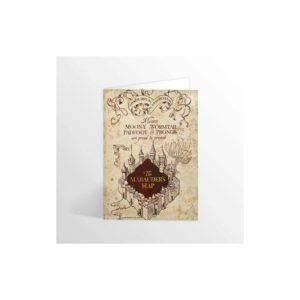 Minalima Pohlednice Mapa Pobertů - Harry Potter