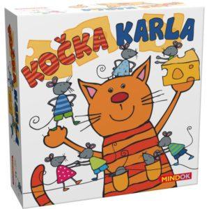 Mindok Společenská hra - Kočka Karla