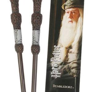 Noble Pero ve tvaru hůlky a záložka Brumbála