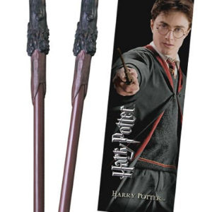 Noble Pero ve tvaru hůlky a záložka Harryho Pottera