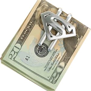 Noble Spona na peníze - Superman (stříbrná)