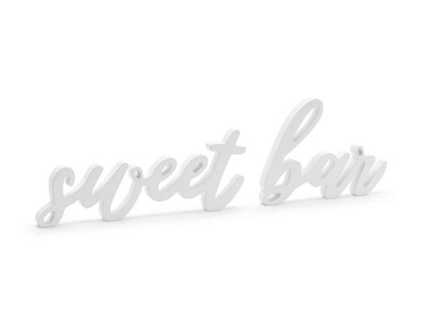 PartyDeco Dřevěná dekorace - Sweet bar