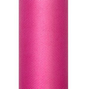 PartyDeco Tyl hladký - růžový 0