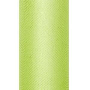 PartyDeco Tyl hladký - zelený