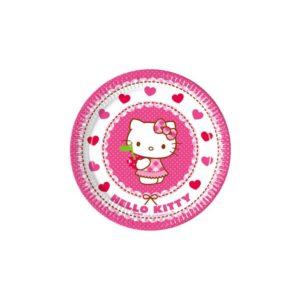 Procos Papírové talíře - Hello Kitty 20 cm