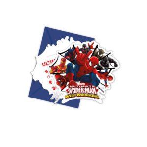 Procos Pozvánky Spiderman 6 ks