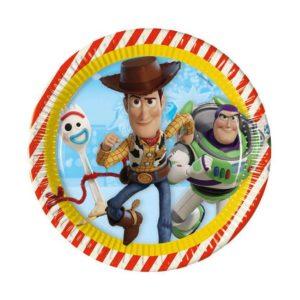 Procos Talíře - Toy Story 8 ks