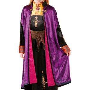 Rubies Dětský deluxe kostým - Anna (šaty) Velikost - děti: L