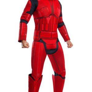 Rubies Pánský deluxe kostým - Red Stormtrooper (Star wars) Velikost - dospělý: XL