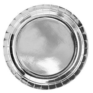 TALÍŘE stříbrné velké 23 cm
