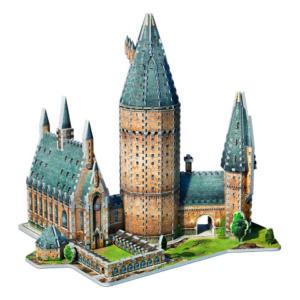 3D Wrebbit Harry Potter 3D Puzzle - Velká síň