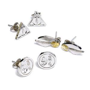 Carat Shop Sada 3 párů náušnic Harry Potter