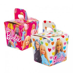 Decora Party boxy na sladkosti - Barbie 6 ks