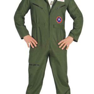 Guirca Kostým vojenského pilota Velikost - dospělý: XL