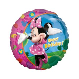 Amscan Fóliový balón - Minnie Happy Birthday