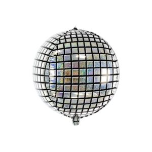 PartyDeco Fóliový balón - holografická disco koule