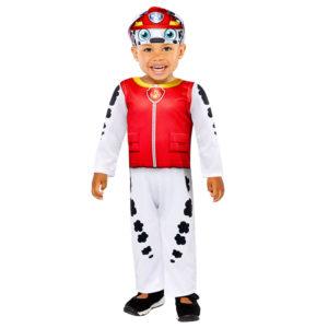 Amscan Dětský kostým pro nejmenší - Paw Patrol Marshall Velikost nejmenší: 24 - 36 měsíců