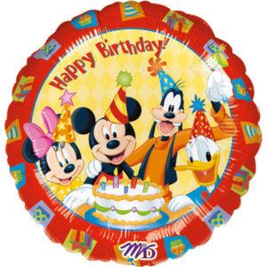 Amscan Fóliový balón - Mickey 43 cm