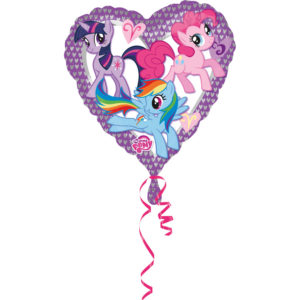 Amscan Fóliový balón - My Little pony srdíčko 43 cm