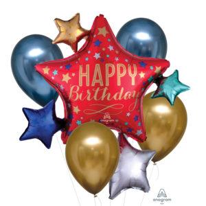 Amscan Kytice balónů Happy Birthday