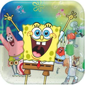 Amscan Talíře Spongebob 22