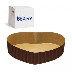 Decora Papírová forma na koláč ve tvaru srdce