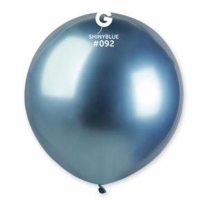 Gemar Balónek chromový modrý 48 cm