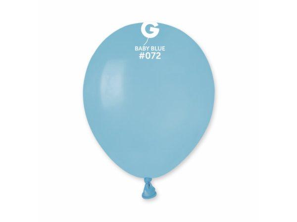 Gemar Balónek pastelový baby modrý 13 cm